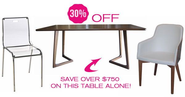 Modern Dining Furniture Deals Inmod Style