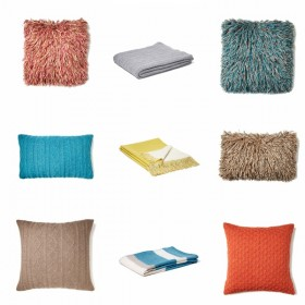 New Pillows, Throws, & Bedding!