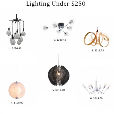 Lavish Lighting On a Budget!