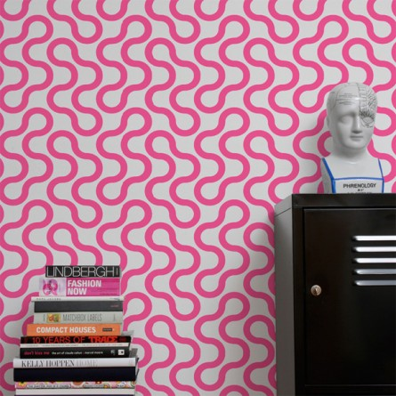 There's something about that wallpaper!
