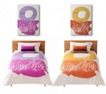 Bold & Bright Bedroom Decor