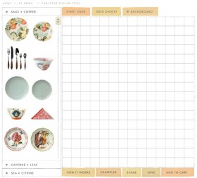 Design Your Own Tabletop