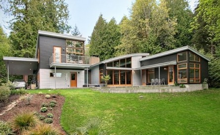 Modern Home on Bainbridge Island