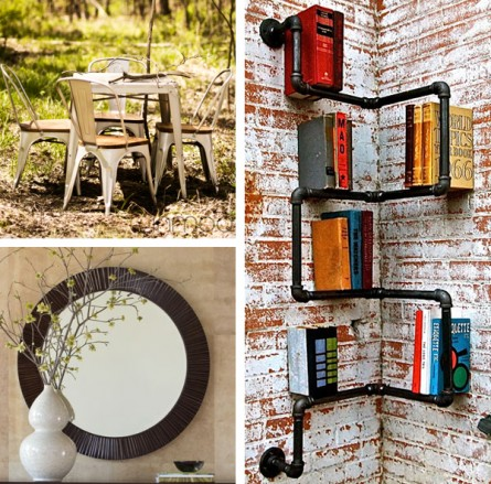 Industrial Inspired Decor