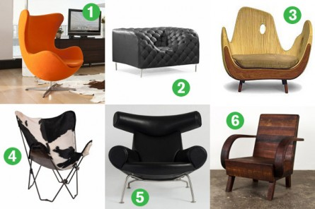 6 Awesome Chairs To Update Your Bachelor Pad