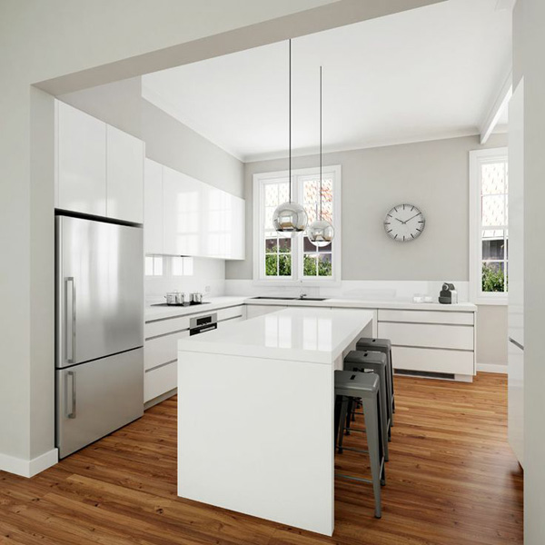 Cuisine Moderne: Modern Kitchen + A Touch Of Classic Industrial Style