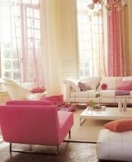 An Elegant Pop of Pink