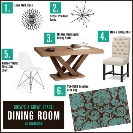 Create a Great Space: Dining Room