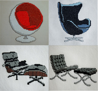 For The Love of Modern Classic Chairs