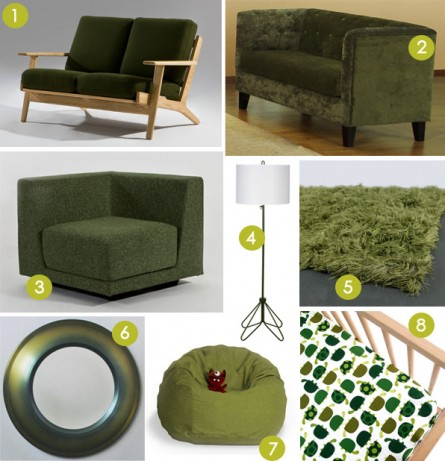 Some Dark Green for Your Decor