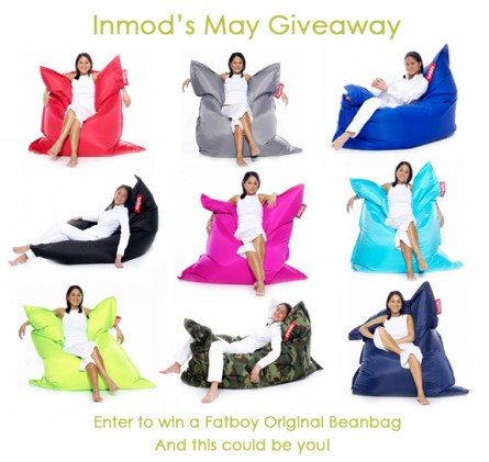 May Giveaway at Inmod: Win a Fatboy Original Beanbag!