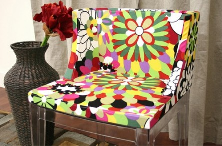 Fiore Colorful Accent Chair