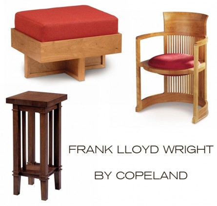 Frank lloyd wright by copeland inmod style for In mod furniture
