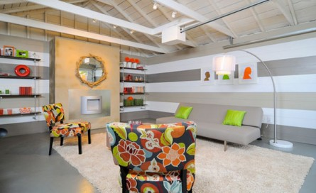 Get The Look: Modern Sofa & Patterned Chairs