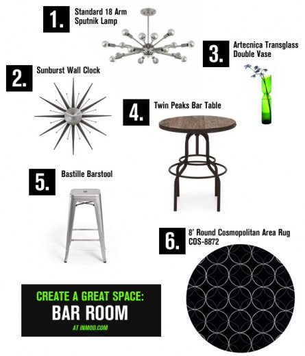 Create a Great Space: Bar Room