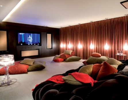 One of a Kind Home Theater