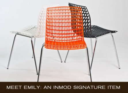 From the Inmod Signature Collection: Meet Emily
