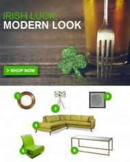 Irish Luck, Modern Look