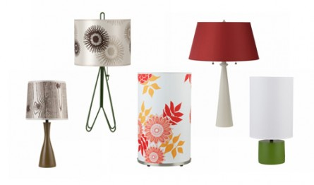 Tasteful Table Lamps from Lights Up!