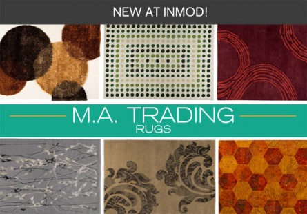 New at Inmod: M.A. Trading Rugs!