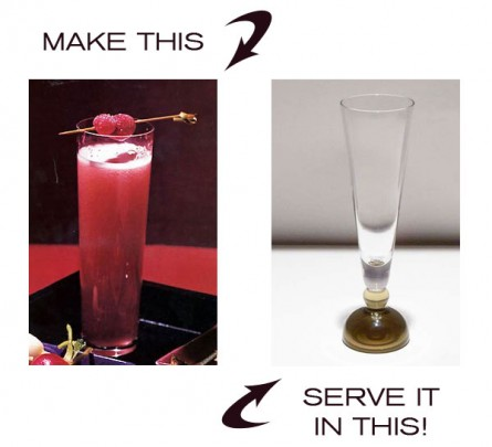 Make & Serve: Cosmopolitan Champagne Cocktail