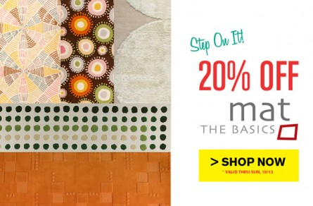 Step On It! Save 20% on MAT the Basics!