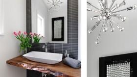Modern Sputnik Bathroom