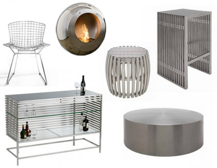 Decorating with Stainless Steel