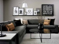 Add a Little Oomph to Black and White Spaces