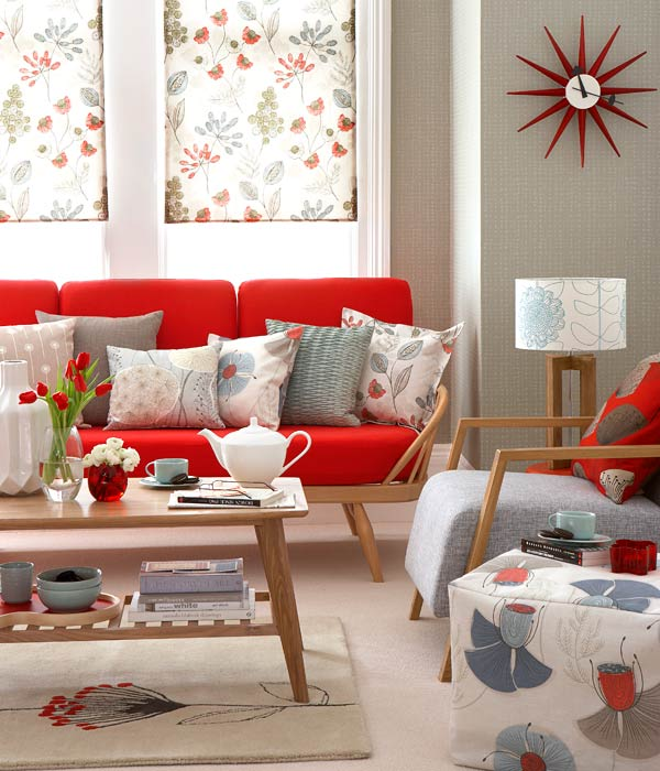 floral design in retro living room inmod style rh blog inmod com