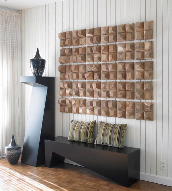 Tiled Wall Decor Inmod Style