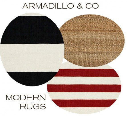 New at Inmod: Armadillo & Co Modern Rugs