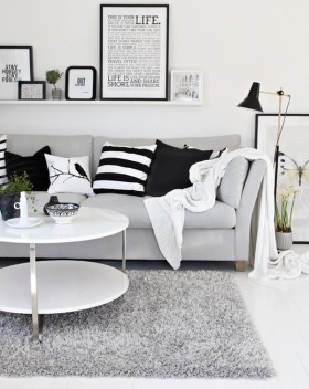 A Whole Lot of Black & White
