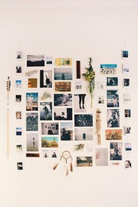 Photo Wall Inspiration !