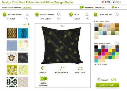 Design Your Own Pillows!