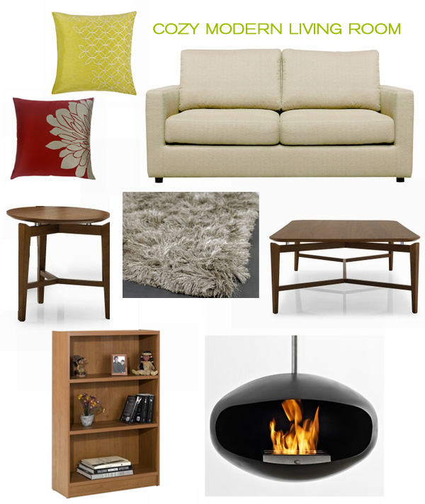 Recreate this look cozy modern living room inmod style for In mod furniture