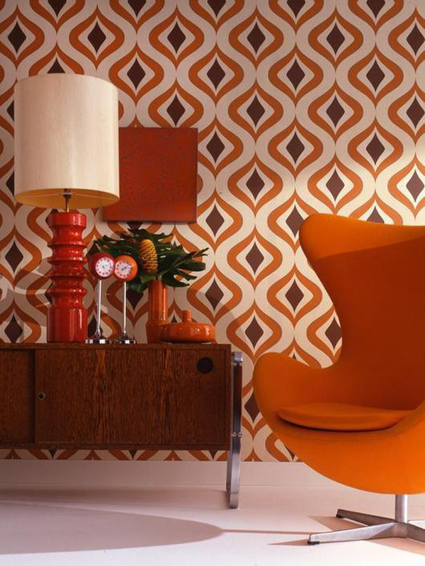 Accent mid century living with patterns inmod style for In mod furniture