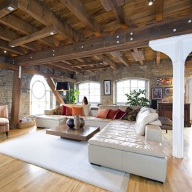 Cozy Up in Rustic-Modern Style