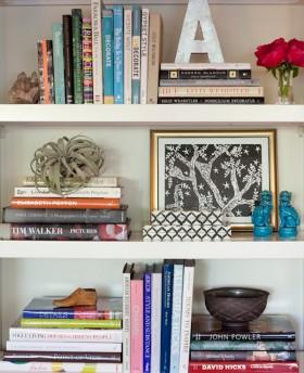 Design Tips: Shelf Styling