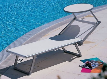 Catch some rays with this unique outdoor lounge