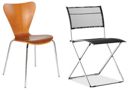 Entertaining Essentials – Stacking & Folding Chairs