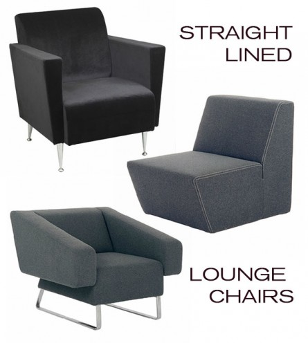 Lounge Chairs with Edge