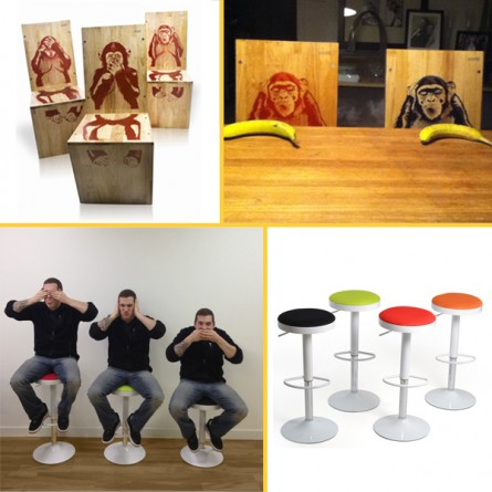 Monkeying Around, Inmod Style!