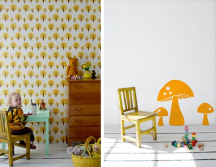 Round-Up: Stylish Yellow Items For Your Home