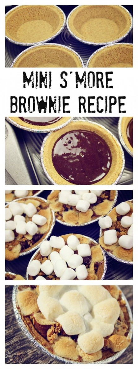 Thanksgiving Mini S'more Recipe!