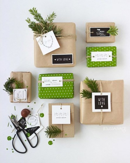 DIY Wrapping Ideas For The Holidays!