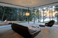 Mid-Century Glass House