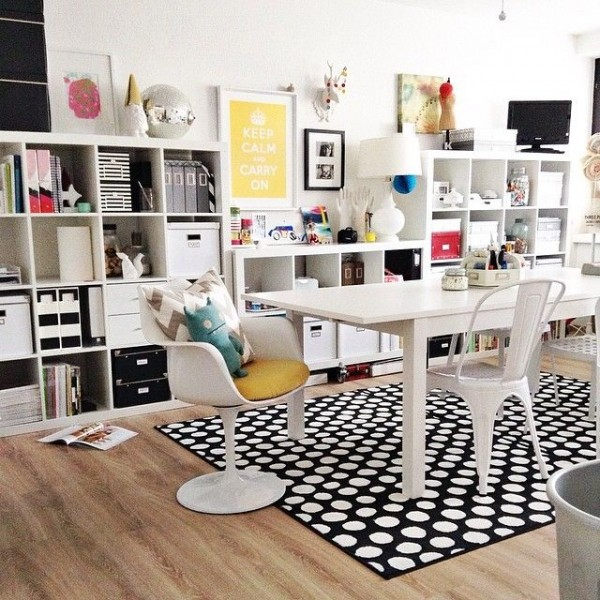 Mid-century Modern Workspace (Get The Look!)