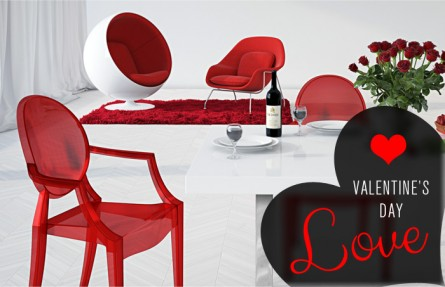 Decorate For A Modern Valentine's Day
