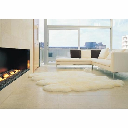 Sheepskin Longwool Eight Pelt Rug, $722.00